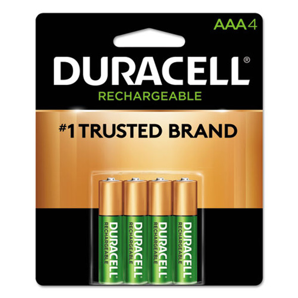 Duracell Rechargeable StayCharged NiMH Batteries - DURNLAAA4BCD