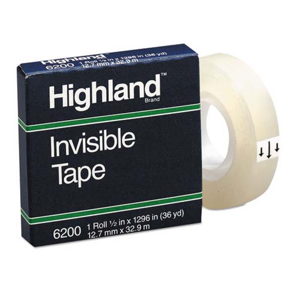 Highland Invisible Permanent Mending Tape - MMM6200121296