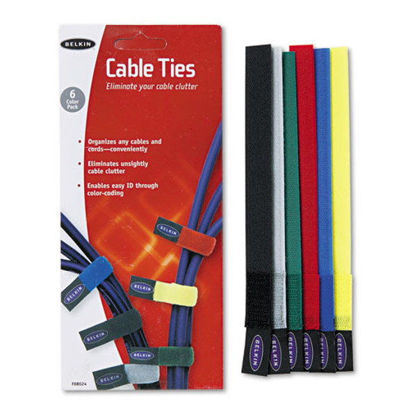 Belkin Multicolored Cable Ties