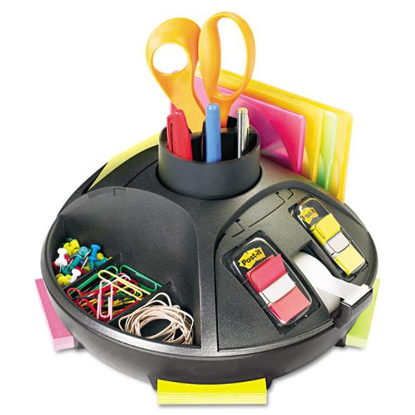 3M Rotary Desk Organizer