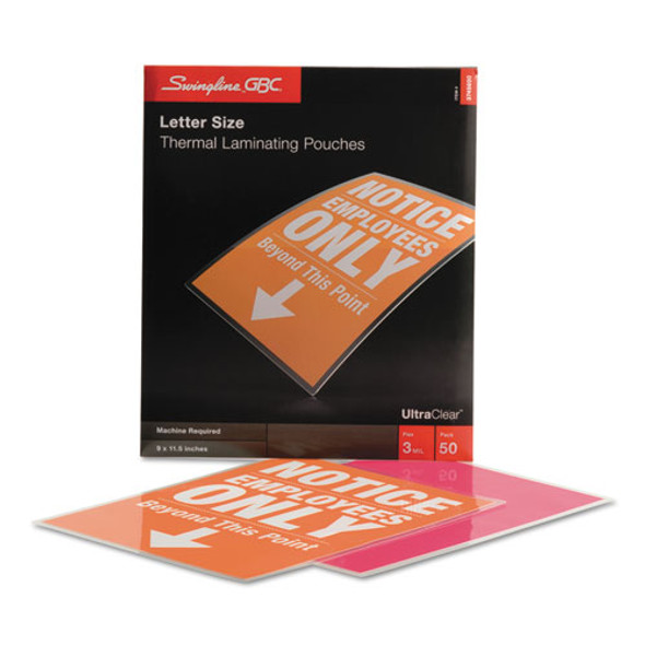 GBC UltraClear Thermal Laminating Pouches - GBC3745690