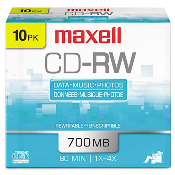Maxell CD-RW Rewritable Disc - MAX630011