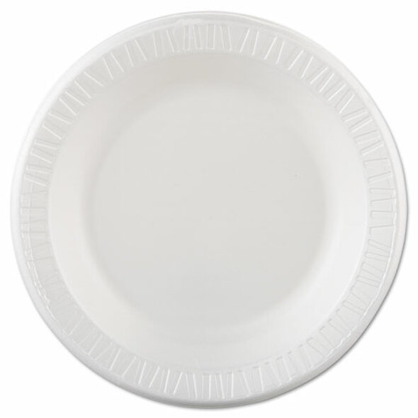 Dart Quiet Classic Laminated Foam Dinnerware - DCC10PWQR
