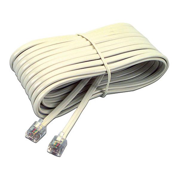 Softalk Telephone Extension Cord, Plug/Plug