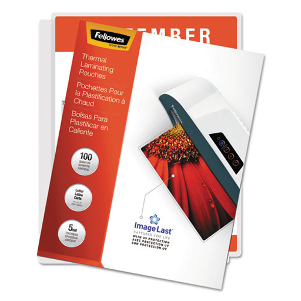 Fellowes ImageLast Laminating Pouches with UV Protection - FEL52040