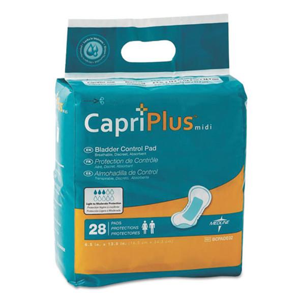 Medline Capri Plus Bladder Control Pads - MIIBCPE02