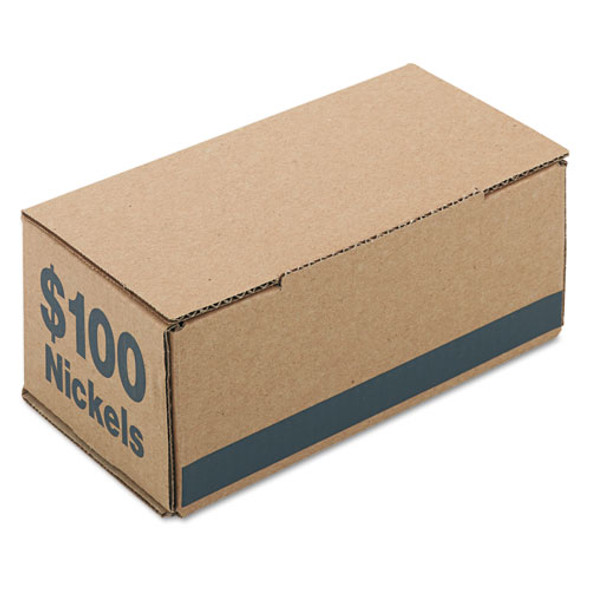 PM Company Corrugated Coin Storage and Shipping Boxes - PMC61005