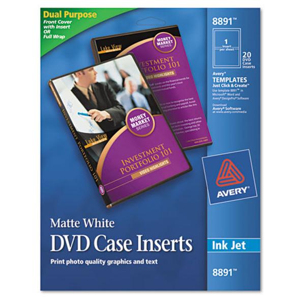 Avery DVD Case Inserts