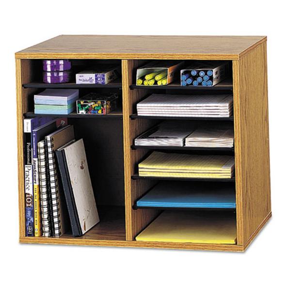Safco Wood Adjustable Organizer