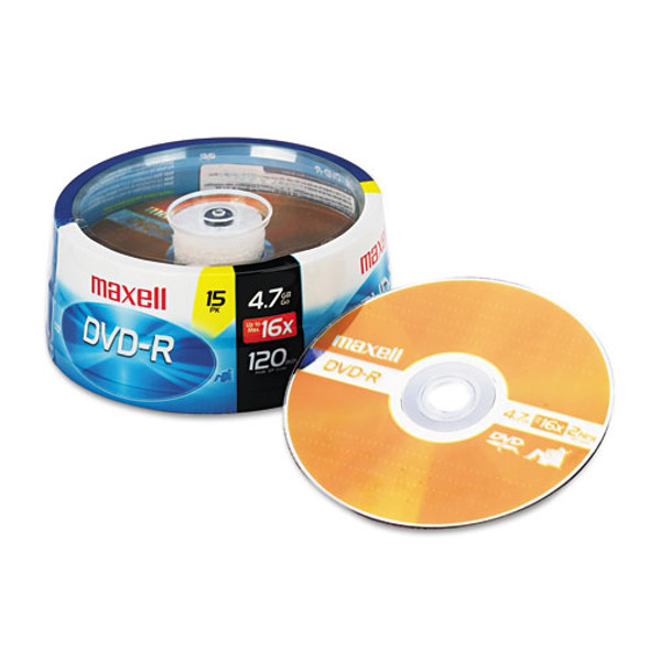 Maxell DVD-R Recordable Disc - MAX638006