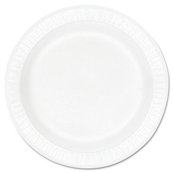 Dart Concorde Non-Laminated Foam Dinnerware - DCC9PWCR