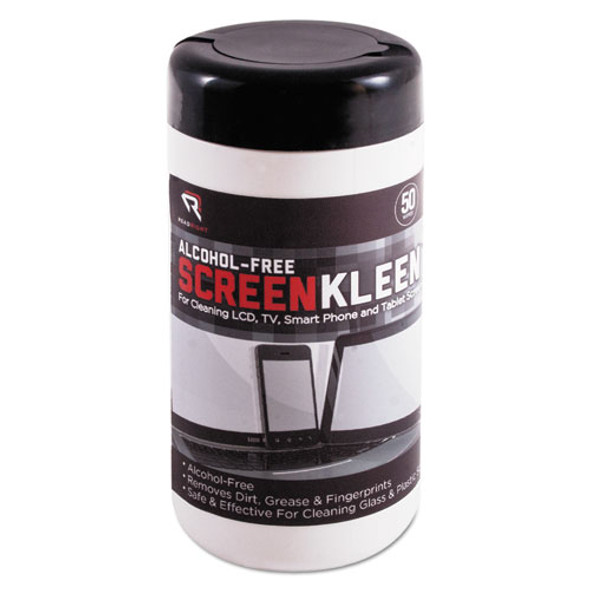 Read Right Alcohol-Free ScreenKleen Wipes - REARR1491