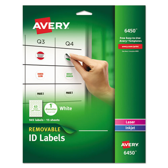 Avery Removable Multi-Use Labels