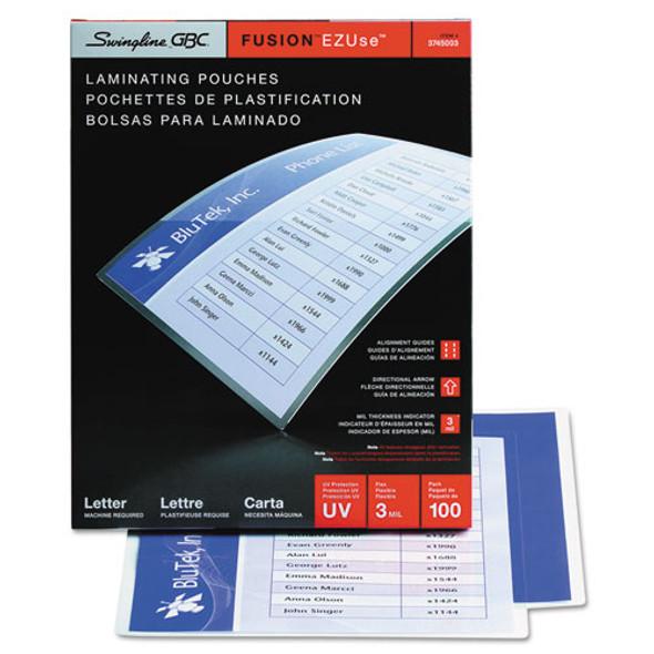 GBC EZUse Thermal Laminating Pouches - GBC3745003