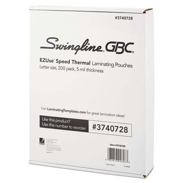 GBC EZUse Thermal Laminating Pouches - GBC3740728