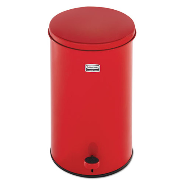 Rubbermaid Commercial Defenders Round Waste Receptacle