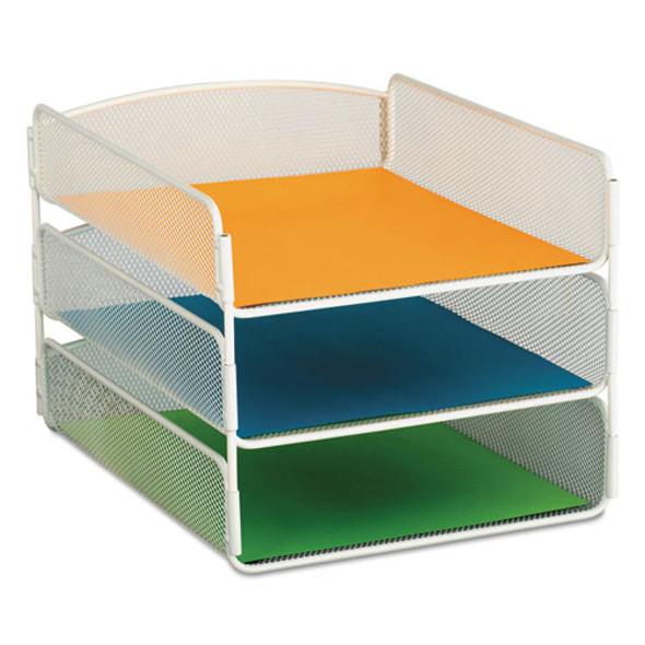 Safco Onyx Desk Tray - SAF3271WH