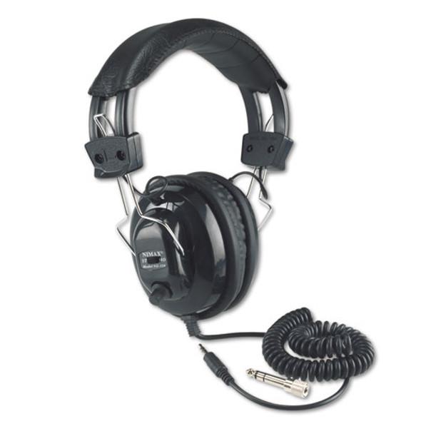 AmpliVox Deluxe Stereo Headphones with Mono Volume Control