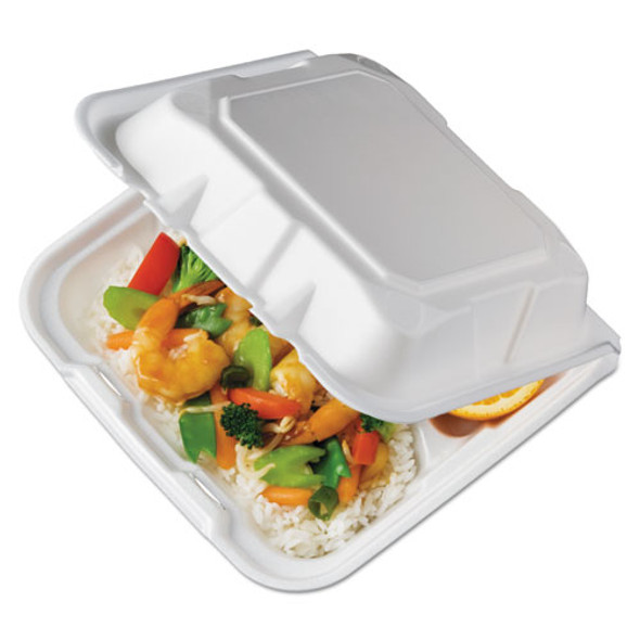 Pactiv Foam Hinged Lid Containers