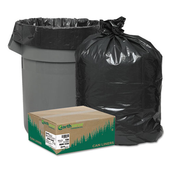 Earthsense Commercial Linear Low Density Recycled Can Liners - WBIRNW4320