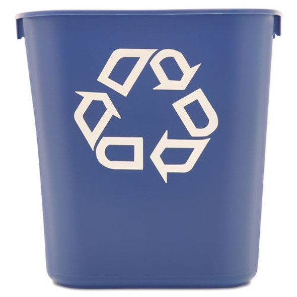 Rubbermaid Commercial Deskside Recycling Container - RCP295573BE