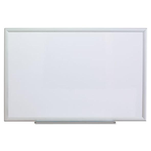 Universal Deluxe Melamine Dry Erase Board - UNV44624