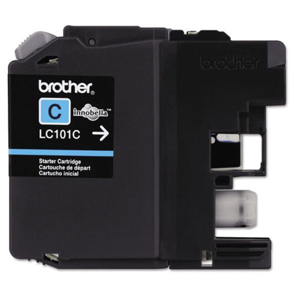 Brother LC101BK, LC101C, LC101M, LC101Y, LC1013PKS Ink - BRTLC101C