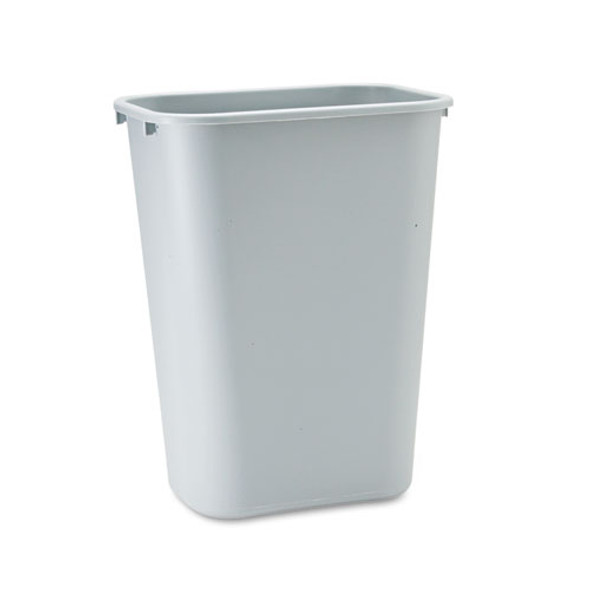 Rubbermaid Commercial Deskside Plastic Wastebasket - RCP295700GY