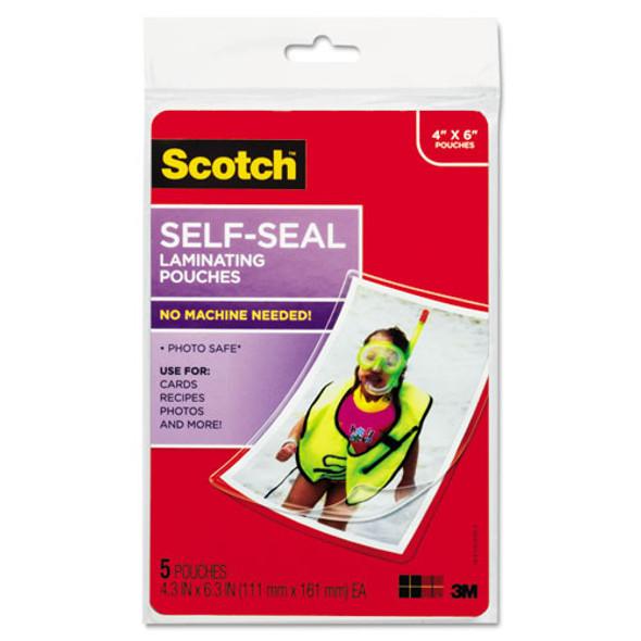 Scotch Self-Sealing Laminating Pouches - MMMPL900G