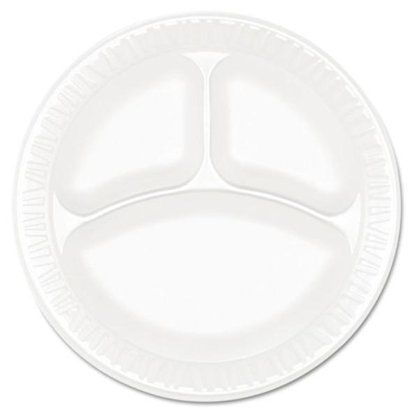 Dart Concorde Non-Laminated Foam Dinnerware - DCC9CPWCR
