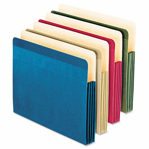 Pendaflex 100% Recycled Colored File Pocket