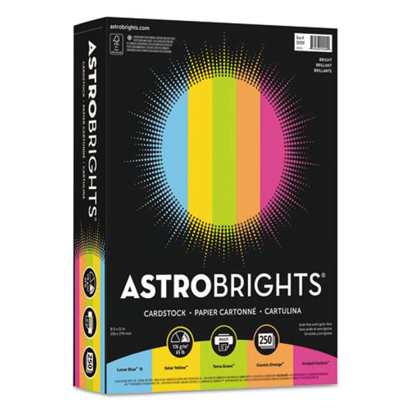 "Astrobrights Color Cardstock -""Bright"" Assortment"