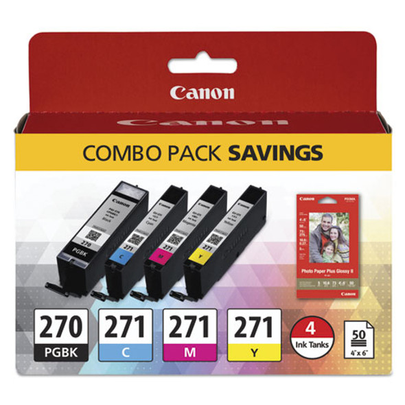 Canon 0373C005 Ink & Paper Pack