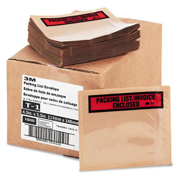 3M Top Print Self-Adhesive Packing List Envelope