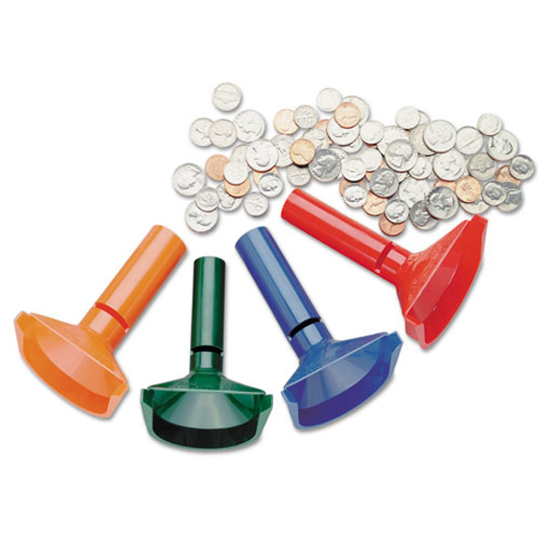 SteelMaster Coin Counting Tubes