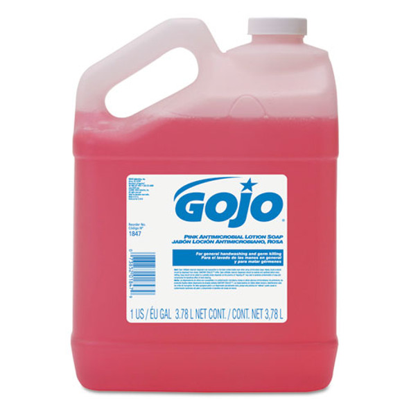 GOJO Antimicrobial Lotion Soap