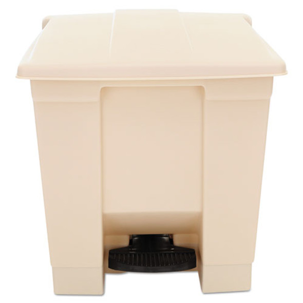Rubbermaid Commercial Indoor Utility Step-On Waste Container - RCP6143BEI