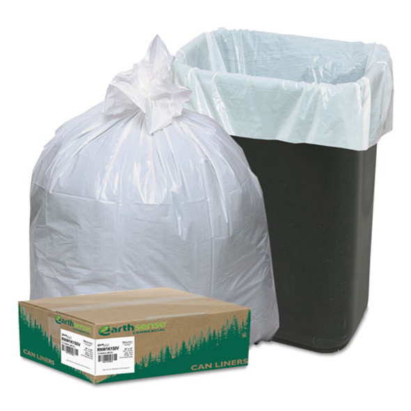Earthsense Commercial Linear-Low-Density Recycled Tall Kitchen Bags