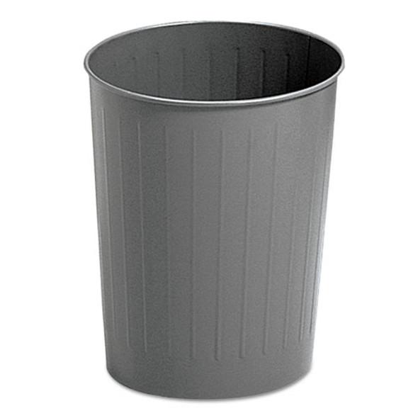 Safco Round Wastebaskets - SAF9604CH