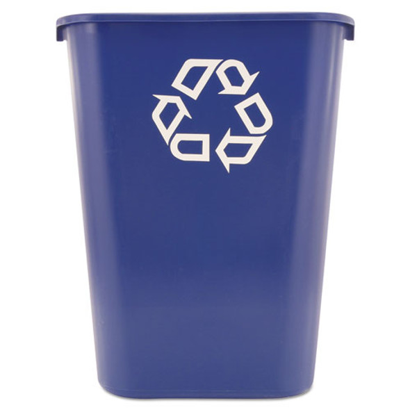 Rubbermaid Commercial Deskside Recycling Container - RCP295773BE