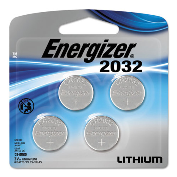 Energizer Watch/Electronic/Specialty Battery - EVE2032BP4