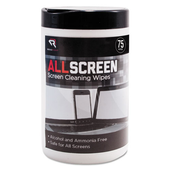 Read Right AllScreen Screen Cleaning Wipes