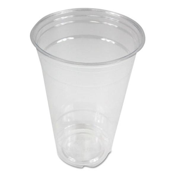 Boardwalk Clear Plastic Cold Cups - BWKPET20