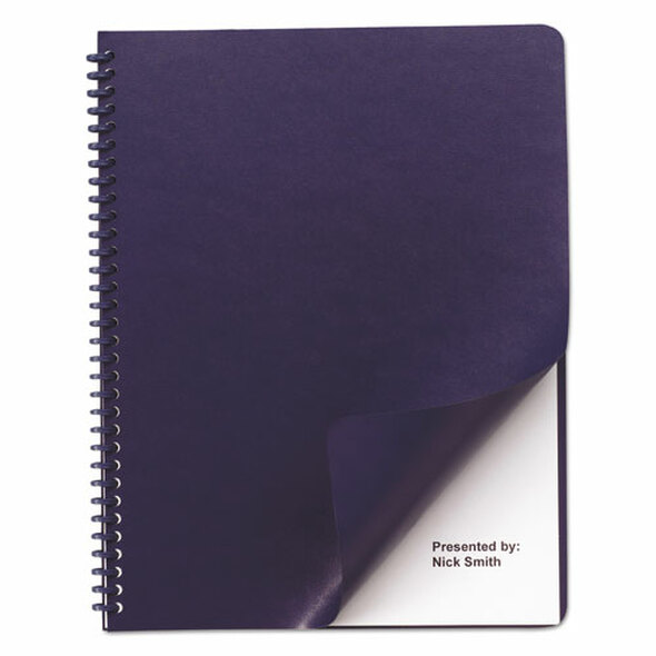 GBC Leather-Look Presentation Covers for Binding Systems - GBC2000711