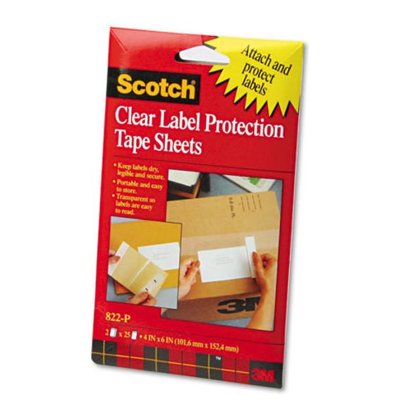 Scotch ScotchPad Label Protection Tape Sheets