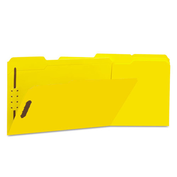 Universal Deluxe Reinforced Top Tab Folders with Fasteners - UNV13528