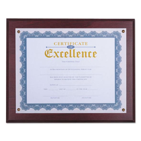Universal Award Plaque - UNV76825