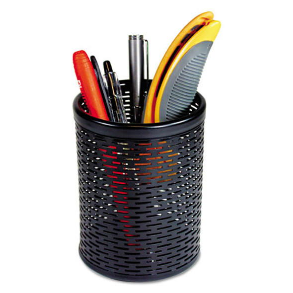 Artistic Urban Collection Punched Metal Pencil Cup