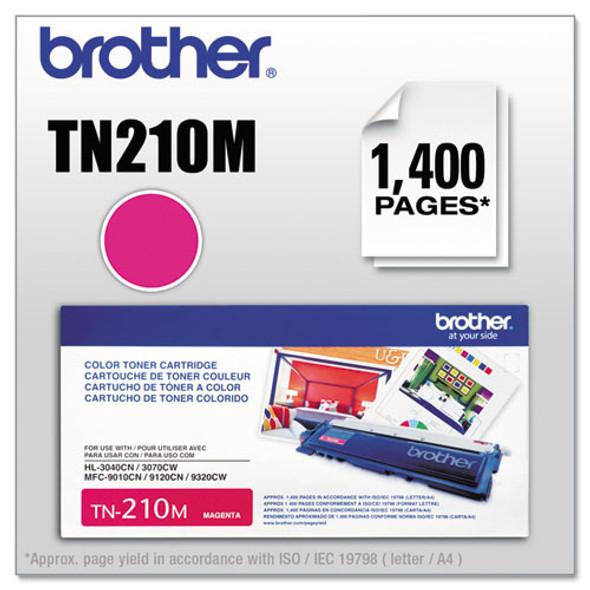 Brother BRTTN210BK, BRTTN210C, BRTTN210M, BRTTN210Y Toner - BRTTN210M