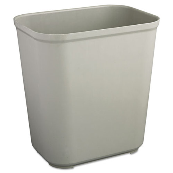 Rubbermaid Commercial Fire Resistant Wastebasket - RCP2543GRA